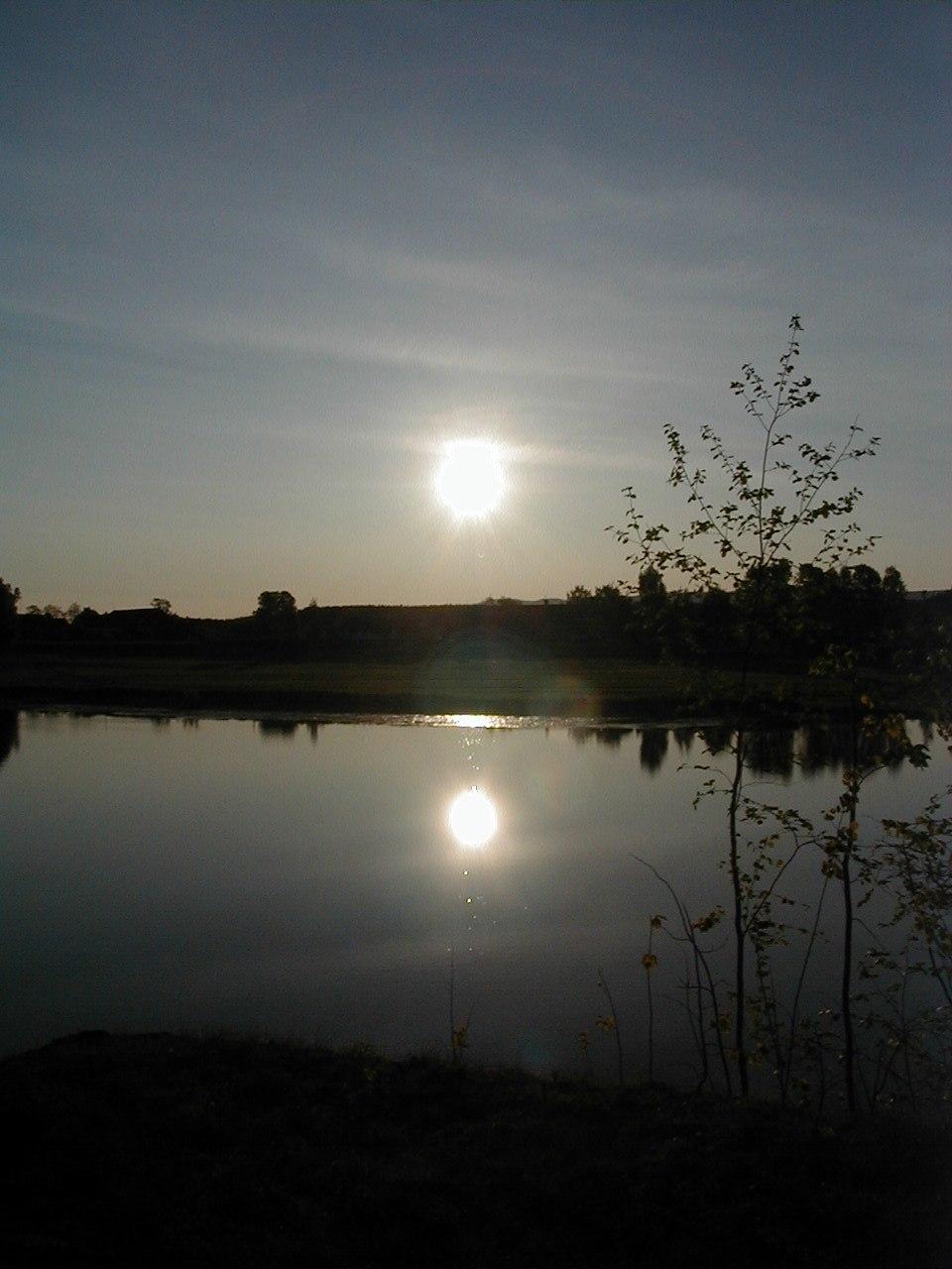 Solar eclipse Ringerike 2003