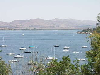 Hartbeespoort Dam - Sailing vessels at the Transvaal Yacht Club
