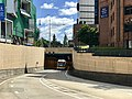 South East Busway and tunnel under Stanley Street, South Brisbane.jpg