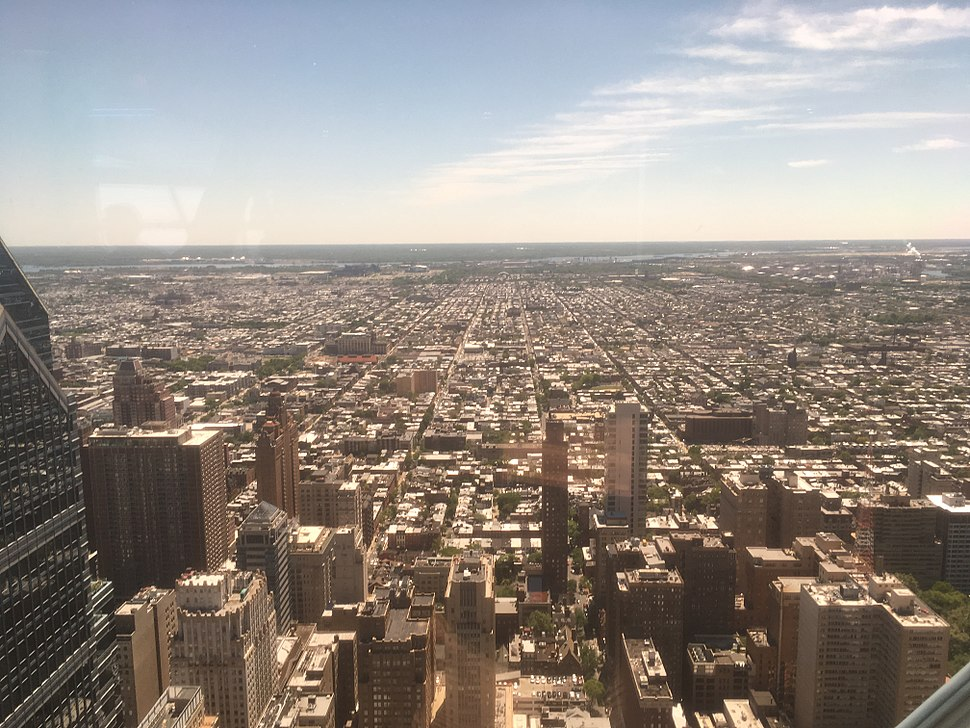 South Philadelphia from One Liberty Observation Deck May 2017