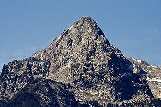 South Teton mountain in United States of America