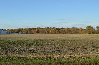 Jackson Township, Richland County, Ohio - Fields southeast of Shelby