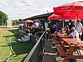 Southwater Cricket Club pavilion at Southwater, West Sussex, England 2.jpg