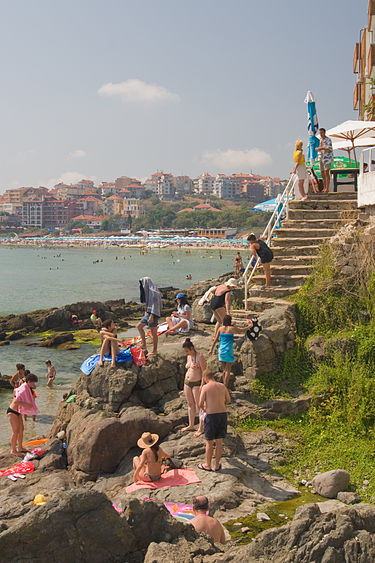 Созополь, Болгария, пляж от Йеруна Крансена.jpg