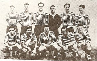 Sportivo Barracas - The team which won the Primera División championship in 1932.