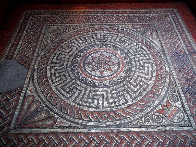Archivo: Sparsholt Villa Mosaic - Winchester City Museum.JPG