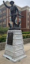 """Spirit of the American Doughboy"" Statue"