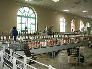 Chuvashia - In a liquor distillery, Mariinsky Posad