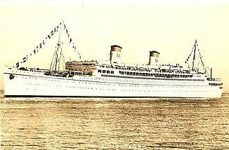 SS Monterey - Image: Ss monterey, 1930s