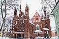 St. Anne's Church in winter (2015).jpg