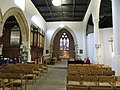 St. Giles church, Pontefract - interior looking east (geograph 5216715).jpg