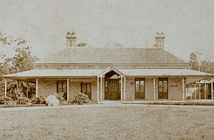 """Ashgrove, Queensland - """"Granite House"""" in St Johns Wood, 1880"""