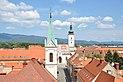 La placo de St. Mark vide de la Lotrščak Turo (13023688244).jpg