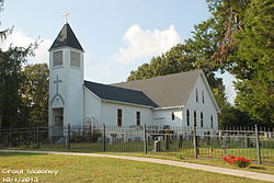 St. Michael's Catholic Church, Cedar Hill, Tennessee..JPG