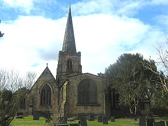 Duffield, Derbyshire - Image: St Alkmunds Church Duffield