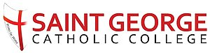Saint George Catholic College - Image: St George Catholic College Logo 2013 09 18 22 26