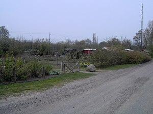 Sankt Hans Hill - Image: St Hans backar, koloniområde