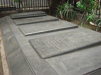 Arshak Ter-Gukasov - Ter-Gukasov is buried next to Russian-Armenian military commanders who fought alongside him during the Russian-Turkish war: Mikhail Loris-Melikov, Ivan Lazarev and Beybut Shelkovnikov.