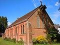 St Martin-by-the-Green Church, Dene Lane, Lower Bourne, Farnham (May 2015) (6).JPG