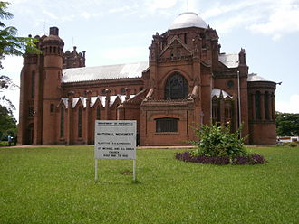 Church of Central Africa Presbyterian - St Michael and All Angels is a CCAP church in Blantyre.