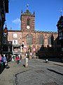St Peter's Church and Chester Cross - geograph.org.uk - 673352.jpg