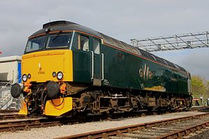 British Rail Class 57 - Great Western Railway 57603 in 2016