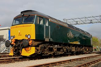 British Rail Class 57 - Great Western Railway 57603 in 2016