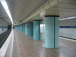 Bielefeld Stadtbahn - Image: Stadtbahn BI wittekindstr