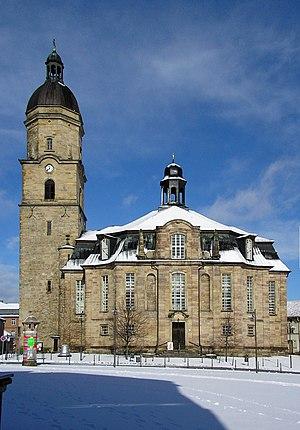 Waltershausen - Image: Stadtkirche waltershausen