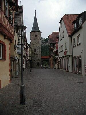 Karlstadt am Main - Image: Stadttor Karlstadt PIC00016