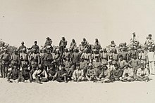 Staff of von Kressenstein at El Arish, 1916.JPG