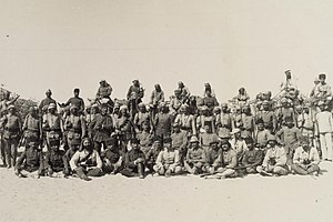Arish - Staff of von Kressenstein at Arish, 1916