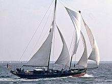 Stagsegelschoner Ethel von Brixham, Kieler Förde 1987 v04-hr.jpg