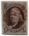 Stamp US 1847 5c-Benjamin Franklin.jpg