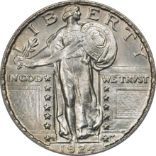 Standing Liberty Quarter Type2 1924D Obverse.png