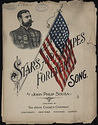 """The Stars and Stripes Forever"" cover"