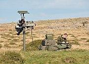 Starstreak launcher on Dartmoor