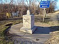 State tripoint, Arkansas side.jpg