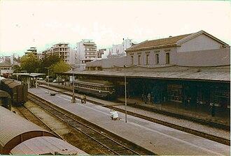 Athens Railway Station - Image: Station Athene 1979