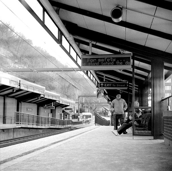 Station Square subway station, 2001
