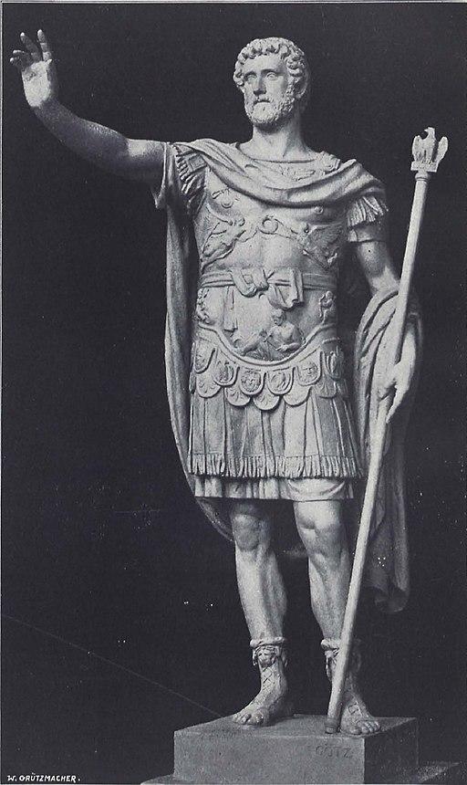 Statue Antoninus Pius v Johannes Götz (BerlLeben 1901-03 OKemnitz)