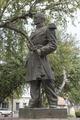Statue of Ignacio Zaragoza Seguin in San Agustin Plaza in Laredo, Texas LCCN2014630560.tif