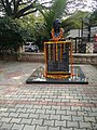 Statue of Sri ValChand HeeraChand, Founder of Hindustan Aeronautics Limited, Bengaluru at HAL Old Airport Bus Stop, Suranjan Das Road, Bengaluru.jpg