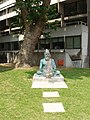 Statue of Tiruvalluvar, School of Oriental and African Studies - geograph.org.uk - 463304.jpg