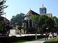 Statuia ecvestra a lui Mihai Viteazul din Alba Iulia - vedere de ansamblu.jpg