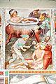 Steinfeld Gerlamoos Filialkirche heiliger Georg Freske 6 siedender Kessel Blei in Mund 20122012 966.jpg