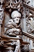 Stephansdom Vienna pulpit detail 04.jpg