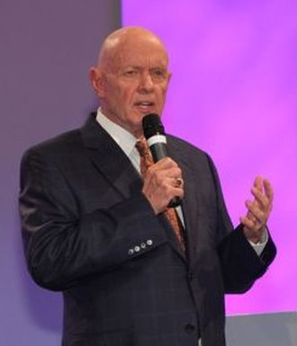 Marriott School of Business - Author and professional speaker Stephen R. Covey, former Marriott School professor