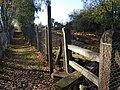 Stile, Level crossing near Yalding Station - geograph.org.uk - 1568409.jpg