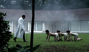 The Human Centipede (First Sequence) - Image: Still 8 Human Centipede cropped